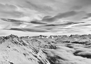 Cloudy Alps